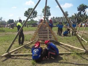 pembuatan menara pandang